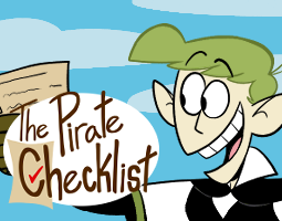 The Pirate Checklist