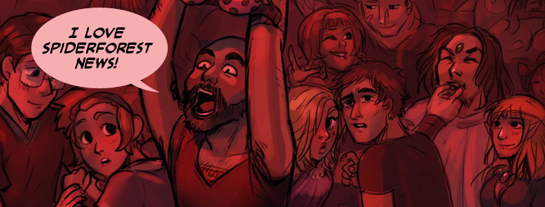 SpiderForest News for October