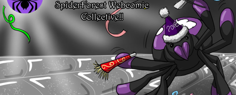 Ring in 2018 With SpiderForest!